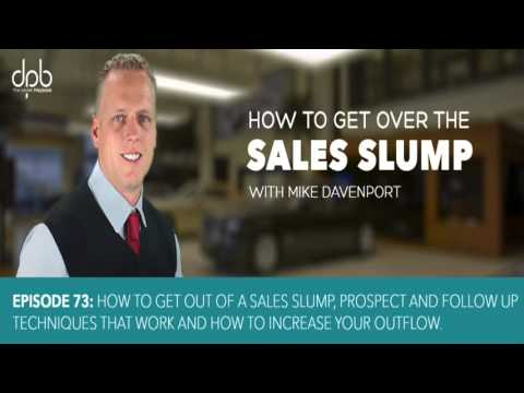 How To Get Out of A Sales Slump In Car Sales - Mike Davenport Louisville Chevy Dude