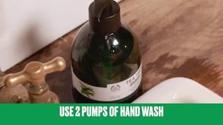 Így moss kezet hatékonyan | The Body Shop