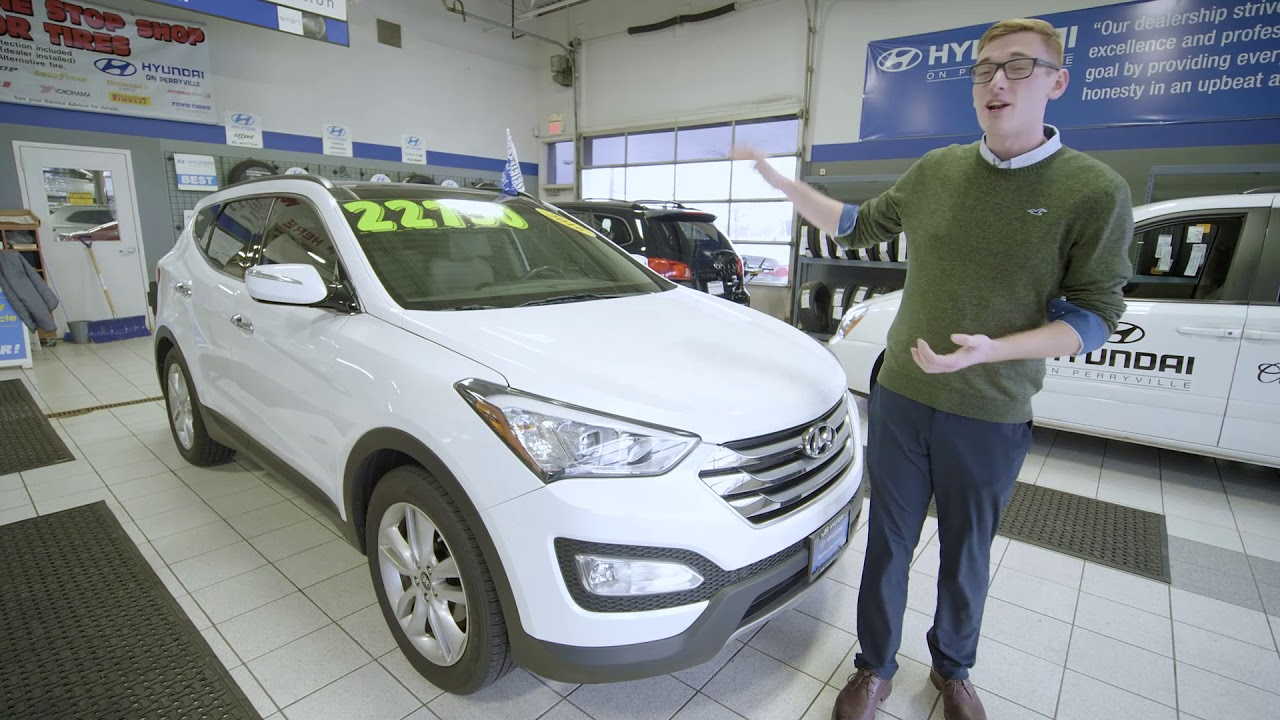 Hyundai On Perryville >> Certified Pre Owned 2016 Santa Fe At Hyundai On Perryville In Rockford Il