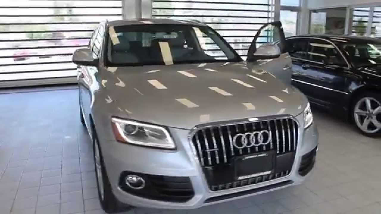 2015 Audi Q5 >> 2015 Audi Q5, Florett Silver Metallic - STOCK# 110630 - Walk around - YouTube