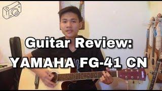 [Funny Guitar Shop] - [Guitar Review] - Guitar Acoustic Yamaha FG-41 CN