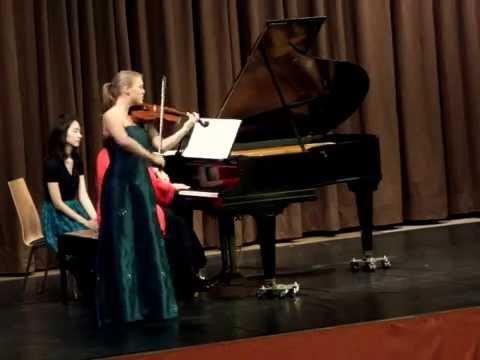 """Ausschnitt 1: Pablo de Sarate Konzertfantasie """"Carmen"""" von Bizet."""
