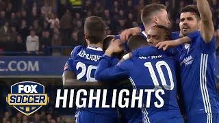 Chelsea vs Manchester United - Highlight