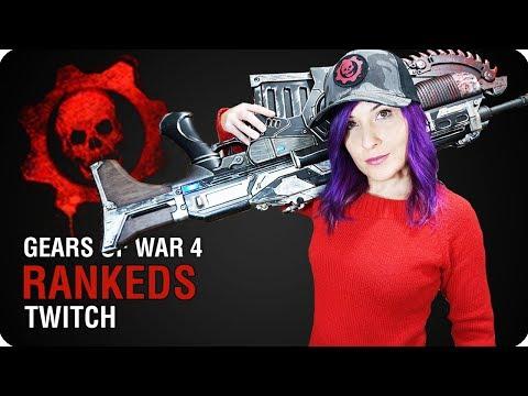 A LO LOCO Y SIN SERVERS DEDICADOS XD   Gears of War 4   Twitch 07/09/17