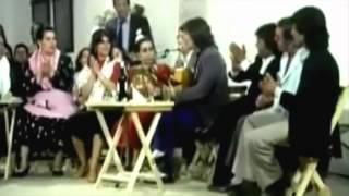 Camarón con Paco Valdepeñas, Fernanda de Utrera, Changuito y Aurora Vargas-1984