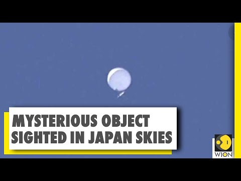 Mysterious object trends on Twitter | Weather balloon or UFO?