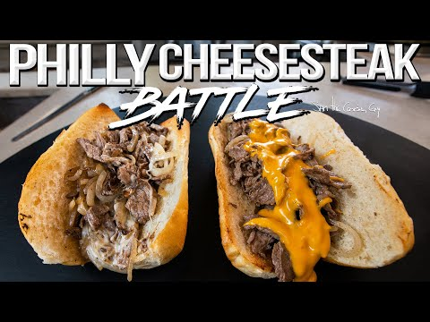 The Best Philly Cheesesteak Recipe – Cheese Whiz vs. Provolone? | SAM THE COOKING GUY 4K