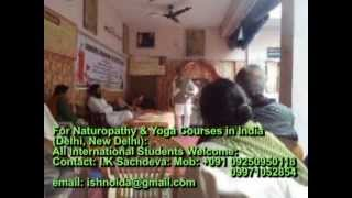 NATUROPATHY COURSES IN INDIA
