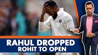 Rahul DROPPED. Rohit to OPEN.   #AakashVani   Cricket News