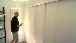 PANEL GLIDES by A Curtains and Blinds Gold Coast
