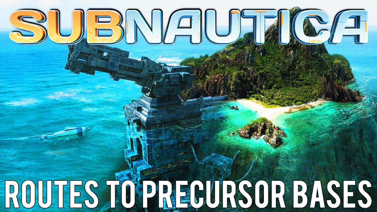 How To Get To All Precursor Bases Routes Subnautica Youtube