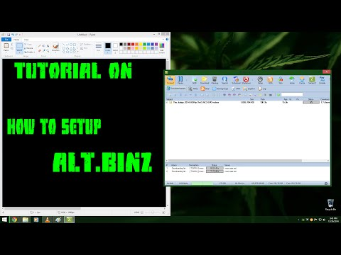 How To Setup Alt Binz