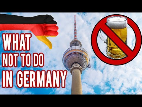 10 Things NOT To Do In Germany And Berlin | GoOn Berlin