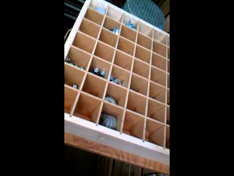 Hardware and small parts storage unit Doovi