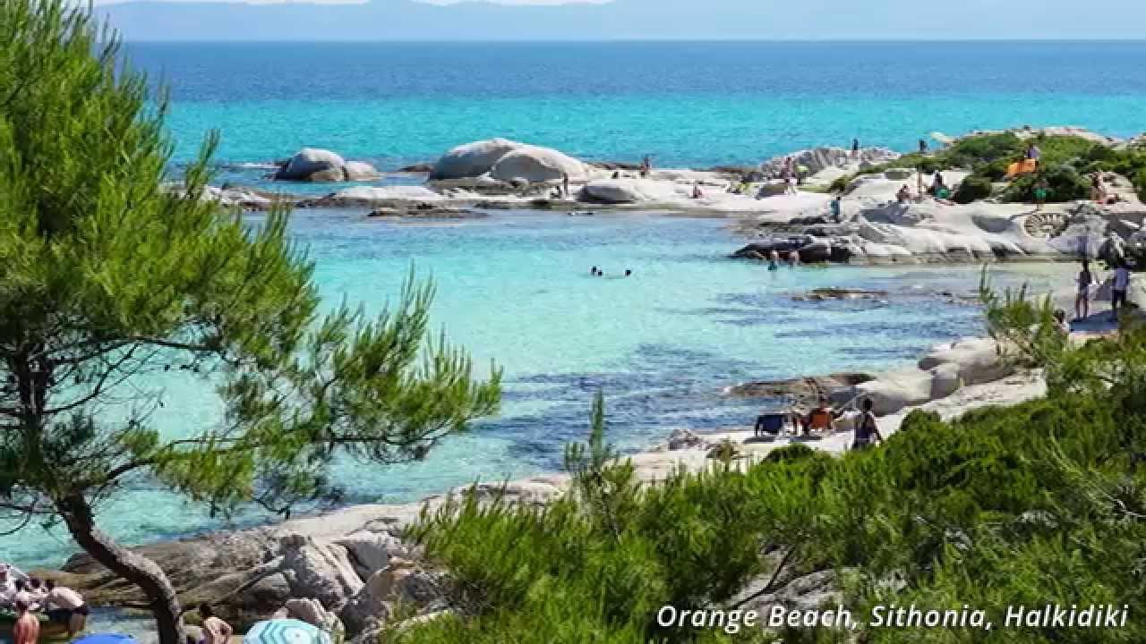 Portokali Beach Kavourotripes Sithonia Halkidiki Greece June 2017 You