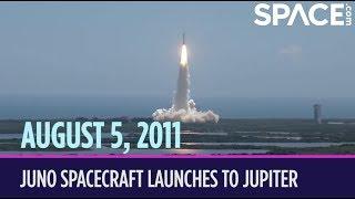 OTD in Space – August 5: Juno Spacecraft Launches to Jupiter