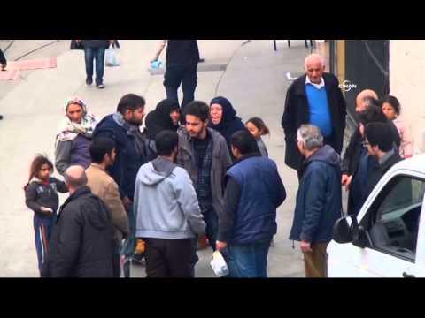 Taksim'de dilencilerin mekan kavgası