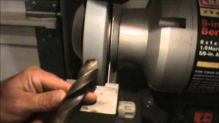 How to sharpen a drill bit