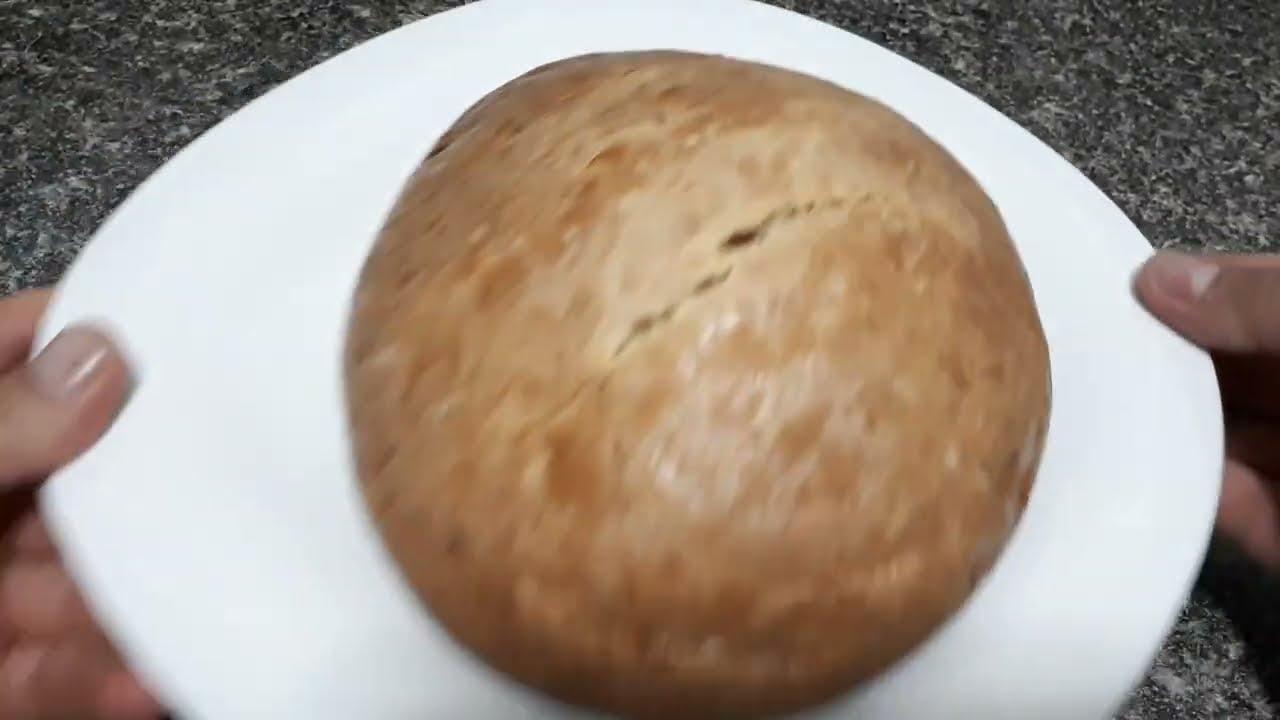 Домашний хлеб без дрожжей и сахара!