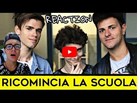 iPantellas & Favij - RICOMINCIA LA SCUOLA - PARODIA BABY K -  REACTION