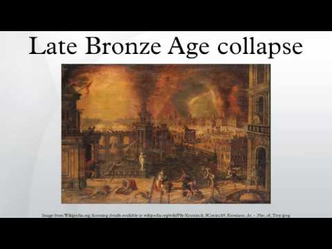 an analysis of the collapse of the bronze age According to this analysis, the mysterious sea peoples, whom the ancients  considered responsible for much of the late bronze age crisis, were.