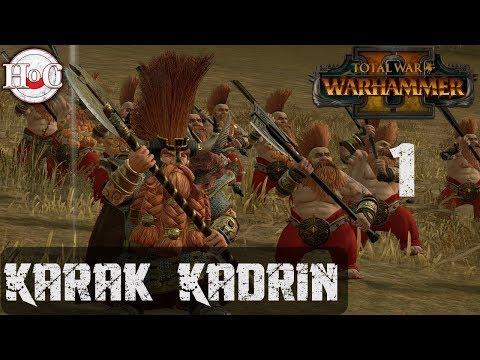 Total War Warhammer 2 - Ungrim Ironfist Campaign - Part 1 Take 2