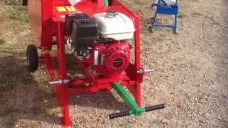 MARY AGRI - Scie circulaire avec moteur thermique Honda 9cv