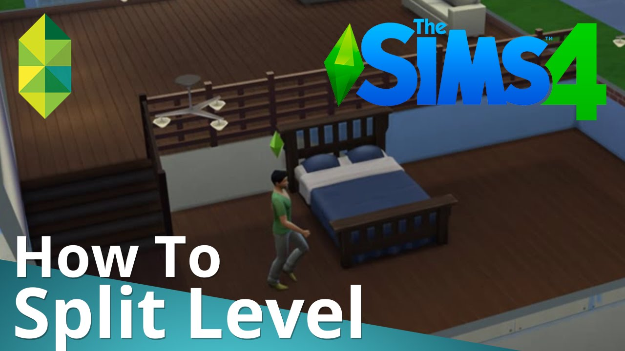 The Sims 4 Tutorial — How to Split Level - YouTube