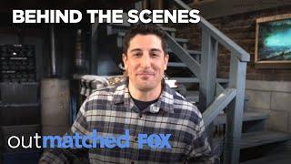 Jason Biggs Gives A Bennett Basement Tour | Season 1 | OUTMATCHED