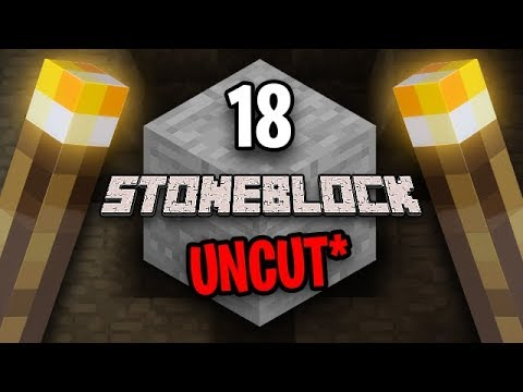 Minecraft: StoneBlock Survival Uncut Ep. 18