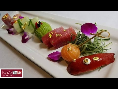 Edible Sushi Art For TBS Show - How To Make Sushi Series