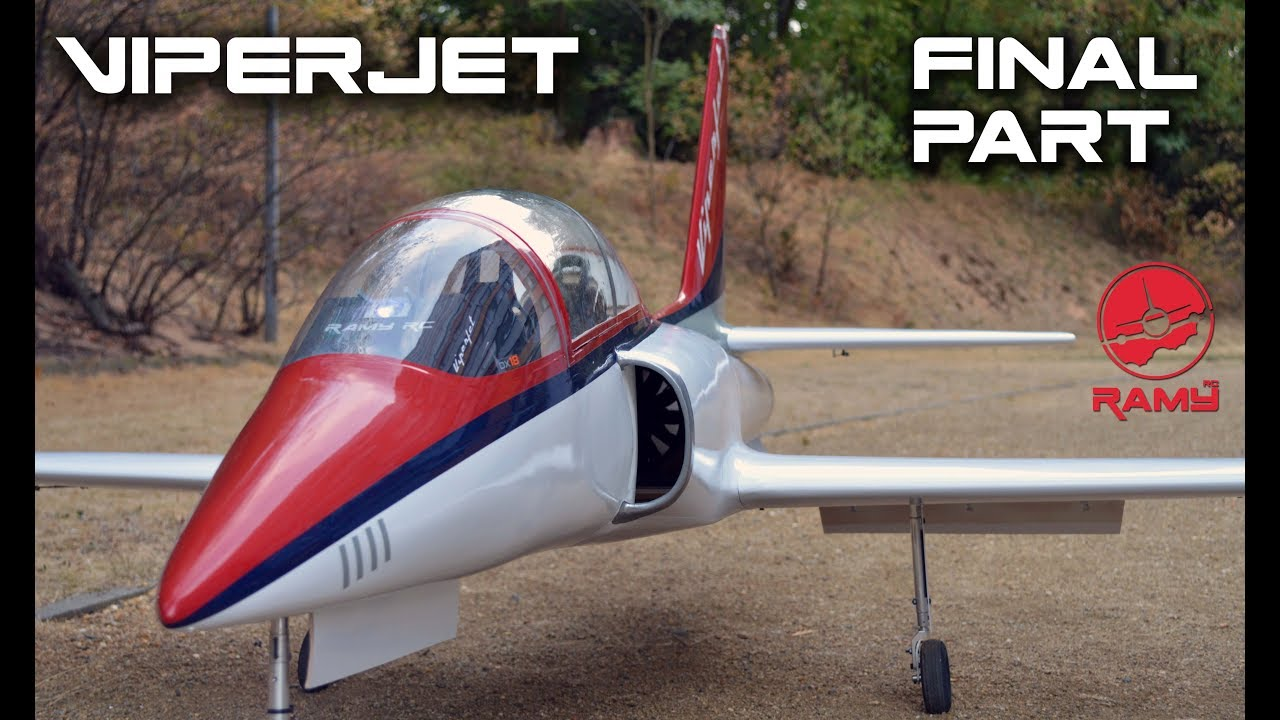 VIPERJET MK2 RC airplane build video by Ramy RC, Part 2 FINAL