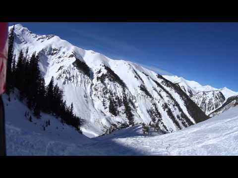 Silverton Mountain: Grassy Butter Powder Run