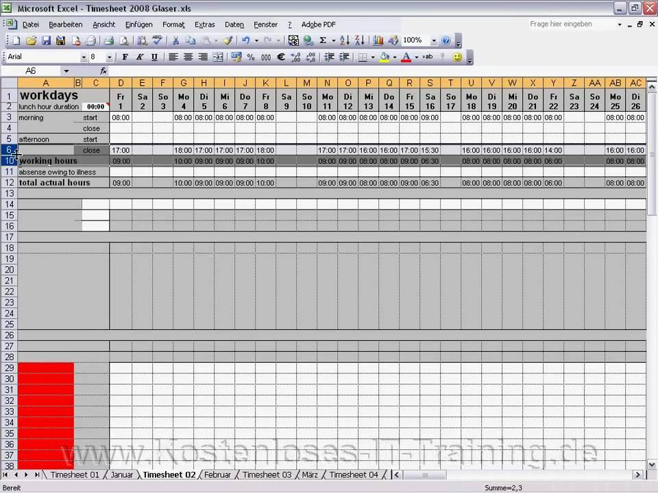 Excel Zellen einblenden und ausblenden - YouTube