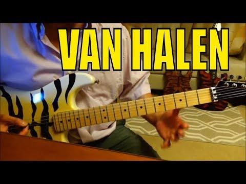"Van Halen   Eddie Van Halen   ""Ripley"" (1984)   Full Guitar Lesson Tutorial"