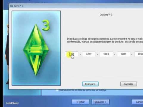 how to make a sims 3 account without serial code