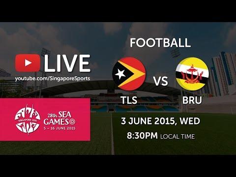 Football Timor Leste vs Brunei 3 June (Bishan Stadium) | 28th SEA Games Singapore 2015