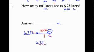 6.RP.3.d - Metric Unit Conversions (Part 2 of 3)