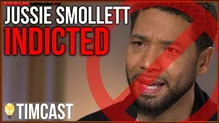 JUSSIE SMOLLETT INDICTED ON FELONY CHARGE