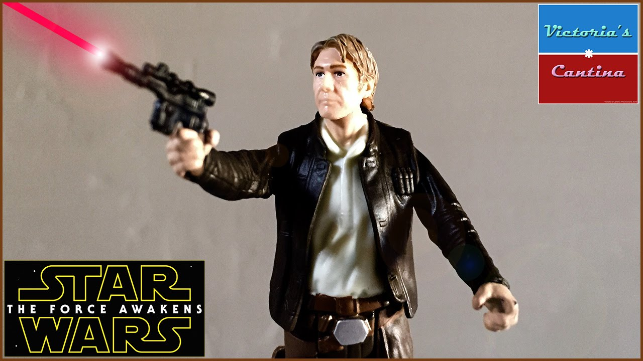 "Star Wars The Black Series 3.75/"" HAN SOLO Figure from The Force Awakens Hasbro"