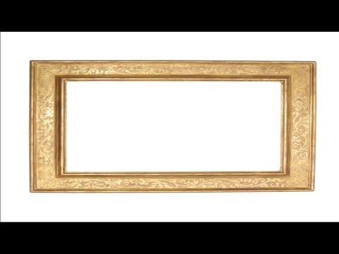 Curso Pintura Decorativa em Molduras e Fabricação de Telas e Painéis - Passe-Partout