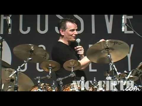 Gavin Harrison at PASIC 2008: Double bass