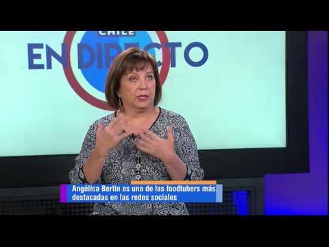 En directo hablamos de cocina chilena con ang lica bertin for Canal cocina en directo