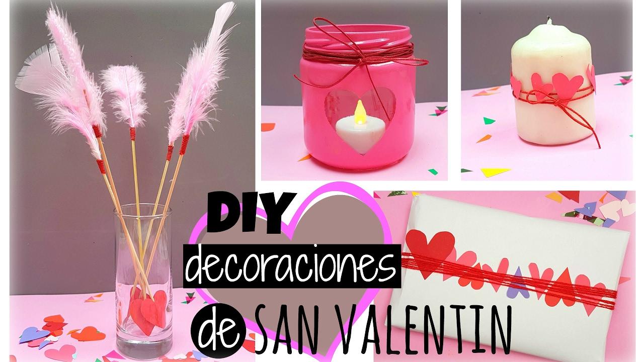 4 manualidades para san valentin decoraciones y regalos manualidades f ciles youtube - Ideas para san valentin manualidades ...