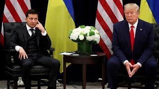 President Donald Trump and Ukrainian President Volodymyr Zelensky