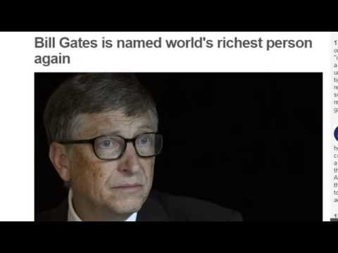 bill gates richest man in the world 2015