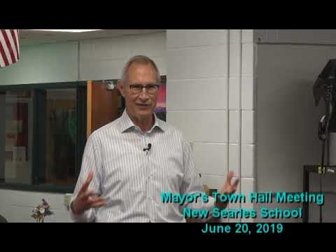 GOV   Mayors Town Hall at New Searles School   June 20 2019