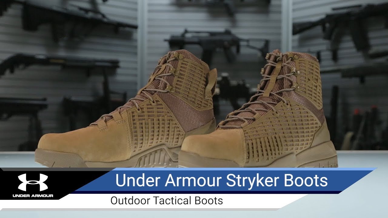 5a226aa1d9 Under Armour Stryker Tactical Boots - Airsoft Evike.com