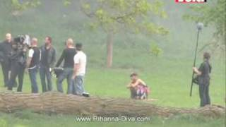 "Rihanna ""Te Amo"" video clip preview (on the set)"