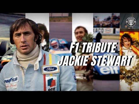 F1 Tribute Jackie Stewart